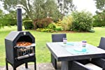 La Hacienda Steel Pizza Bbq Oven Ch...