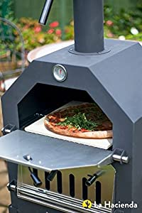 La Hacienda Steel Pizza Bbq Oven Chiminea by La Hacienda