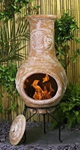 La Luna Clay Chimenea - Medium from Primrose