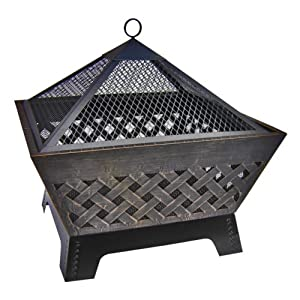 Landmann Heavy Duty Barrone Outdoor Firepit And Cover by The Cowshed