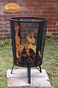 Large Outdoor Garden Steel Incinerator Wood Burner Heater Fire Pit Brazier Basket from Manufactured for Gardeco