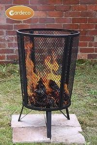 Large Outdoor Garden Steel Incinerator Wood Burner Heater Fire Pit Brazier Basket from Manufactured for Gardeco