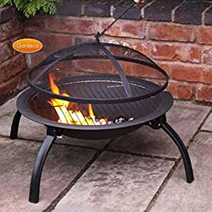 Lucio Folding Fire Pit Bbq from Gardeco