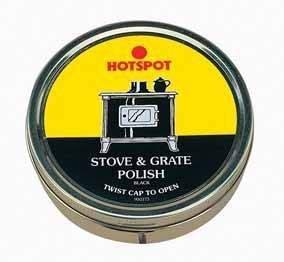 Manor Stove Grate Polish Black 170g Tin from Manor Reproductions Ltd
