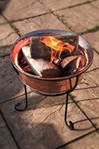 Marrakech Fire Pit - Black Or Copper Copper from Black Country Metal Works