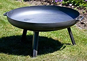 Metal Firepit Pan44diameter 70cm Height 30cm from Nortpol