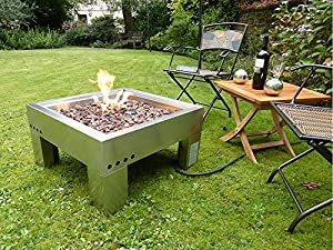 Modena Gas Fire Pit by VISTERA