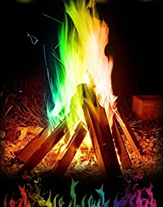 Mystical Fire Campfire Fireplace Colorant Packets 10 Pack from Mystical