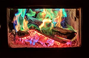 Mystical Fire Campfire Fireplace Colorant Packets 3 Pack from Mystical