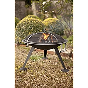 Oregon Metal Fire Pit By La Hacienda from La Hacienda