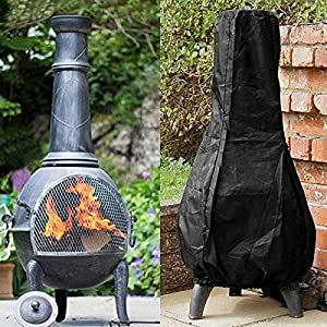 Outdoor Chiminea Furnace Stove Waterproof Cover Barbecue Bbq Rain Dust Protector from Unbekannt
