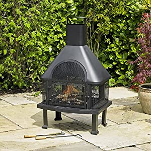 Outdoor Garden Fire Place Log Burner Bbq Patio Heater from Bonnington Plastics