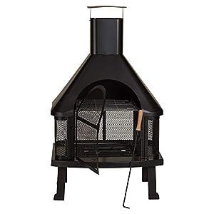Outdoor Garden Fire Place Log Burner Bbq Patio Heater from Bonnington Plastics