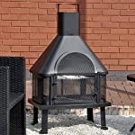 Outdoor Garden Fire Place Log Burne...