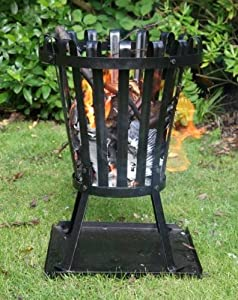 Outdoor Small Steel Environmentally Friendly Brazier - Ideal For Burning Garden Rubbish from Leisure Traders