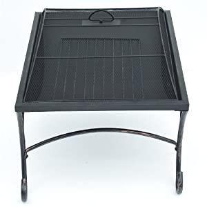 Outsunny Garden Patio Fire Pit Decking Heater Metal Firepit Black Brazier from Manufactured for MHStar