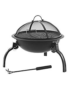 Outwell Cazal Fire Pit Barbecue Grill Camping Caravan Motorhome Accessories from Outwell