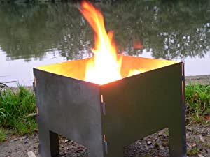 Oxbox Portable Fire Pit by Bos Camping Equipment