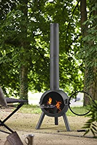Oxford Barbecues 56245 Charlbury Chimenea - Black by La Hacienda Ltd