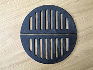 Pair Of Semi Circular Chiminea Fire Grates - 12inches - 305cm Diameter by CASTMASTER