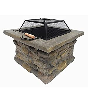 Palm Springs Outdoor Stone Fire Pit by Palm Springs