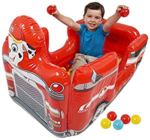 Paw Patrol Marshall Vehicle Ball Pit With 10 Balls from SAMBRO INTERNATIONAL LTD
