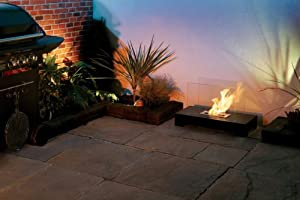 Piazza - Outdoor Decorative Bio-ethanol Fire Contemporary Biofuel Garden Fire from Garden Style Direct