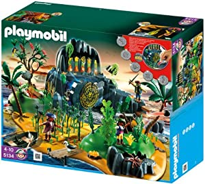 Playmobil 5134 Pirates Adventure Treasure Island from Playmobil