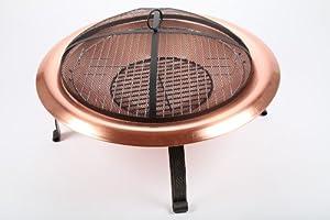 Point-garden Fire Pit 74cm Garden Grill Copper by point-garden