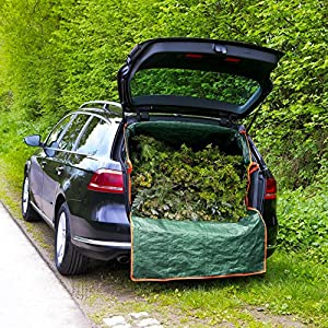 Prima Garden 07712boot Garden Waste Bag Plane Car Boot Protection Garden Incinerator Fire Bin Rubble Woodcarsuv Transport Case With Zip Waterproof Uv Resistantgreen from in-trading Handelsgesellschaft mbH