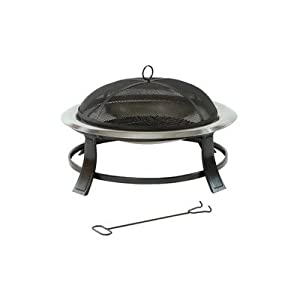 Prima Stainless Steel Fire Bowl by Lifestyle Appliances