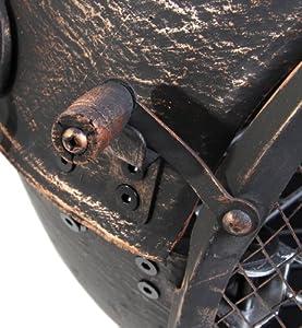 Primrose Small Bronze Cast Iron Chimenea With Steel Flue