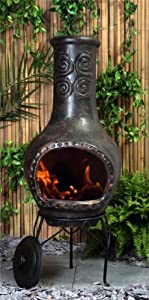 Punuco Clay Chimenea - Large from Primrose