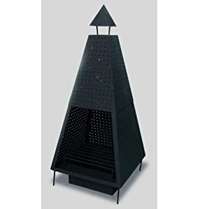 Pyramid Steel Chiminea from Suntime