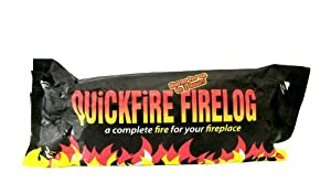 Quickfire Fire Logs X 5 Logs Burns Up To 2 Hours by Quickfire