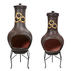 Rayo De Sol Clay Chimenea - Medium from Primrose