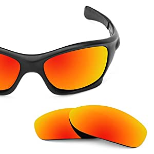 Revant Replacement Lenses For Oakley Pit Bull Polarized Fire Red