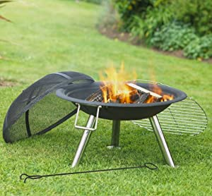 Revolution Bbq0036 Standard Firepit by Solus Garden and Leisure Ltd