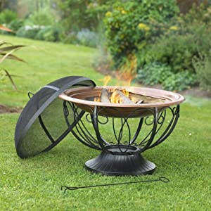 Revolution Bbq0037 Ornate Firepit from Solus Garden and Leisure Ltd