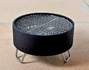 Revolver Fire Pit Tubular Base