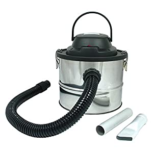 Rl095 Cylinder 800 Watt 15 Litre Low Noise Fireplace Wood Stove Burner Coal Bbq Chiminea Fire Pit Ash Can Debris Collector Vacuum Cleaner Blower - Made By First4spares by FIRST4SPARES