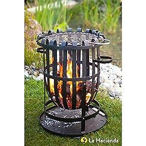 Round Firebasket Grill 56cm High By Buchanan from Buchanan Europe Ltd