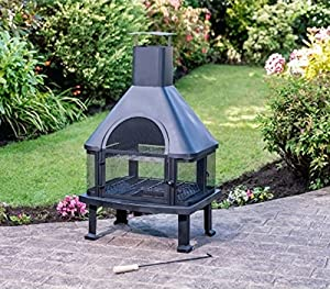Scotrade Toronto Garden Chiminea Ideal For Adding Warmth And Atmosphere In The Garden by Scotrade
