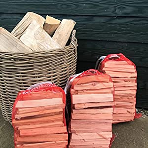 Seasoned Kiln Dried Firewood Logs 16m3 For Stoves Log Burners Chimineas And Fire Pits 3 Bags Of Kindling from Tayside Forestry