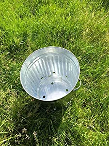 Small Medium Large 15l 60l 90l Litre Metal Galvanised Garden Incinerator Fire Bin Burning Leaves Paper Wood Rubbish Dustbin Shovel And Poker Made In U K 60l Inc Only from UK