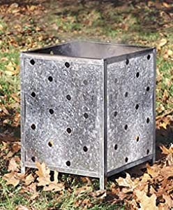 Square Garden Incinerator British Made by Parasene