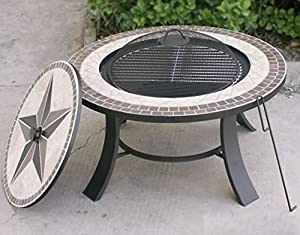 Stargazer Mosaic Fire Pit Table by VISTERA