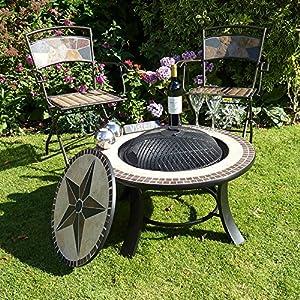 Stargazer Mosaic Fire Pit Table by VISTERA