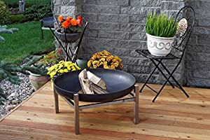 Steel Fire Pit Large Crate - Contemporary Design by Arpe Studio