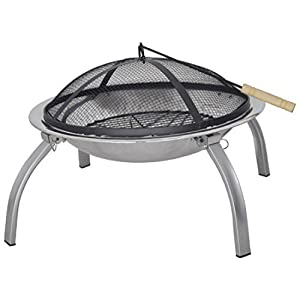 Sunncamp Portable Fire Pit With Fold Away Legs from Sunncamp